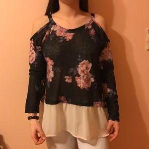 Adorable floral shirt